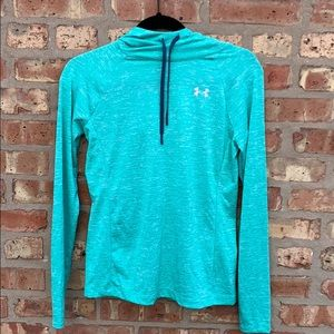 Under Armour: Green Light Pullover Hoodie Size XS